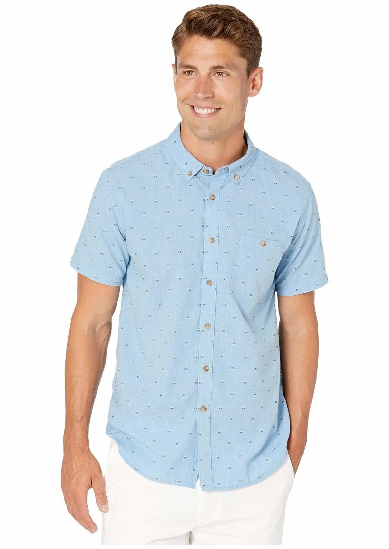 Billabong Men's All Day Jacquard Short Sleeve Shirt