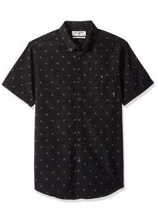 Billabong Men's All Day Jacquard Short Woven Shirt  L