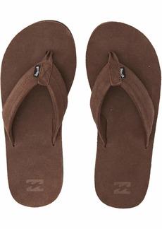 Billabong Men's All Day Leather Sandal Flip-Flop   Regular US