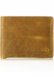 Billabong Men's All Day Leather Wallet