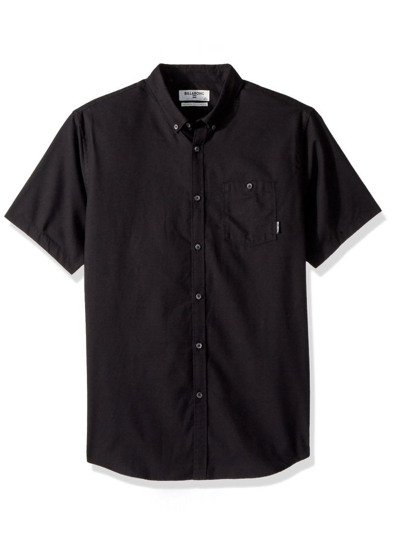 Billabong Men's All Day Oxford Short Sleeve Shirt