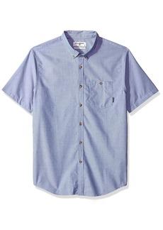 Billabong Men's All Day Oxford Short Sleeve Shirt  S
