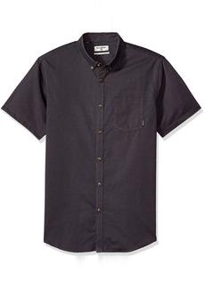 Billabong Men's All Day Oxford Short Sleeve Top  L