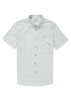 Billabong Men's All Day Oxford SS Button Up