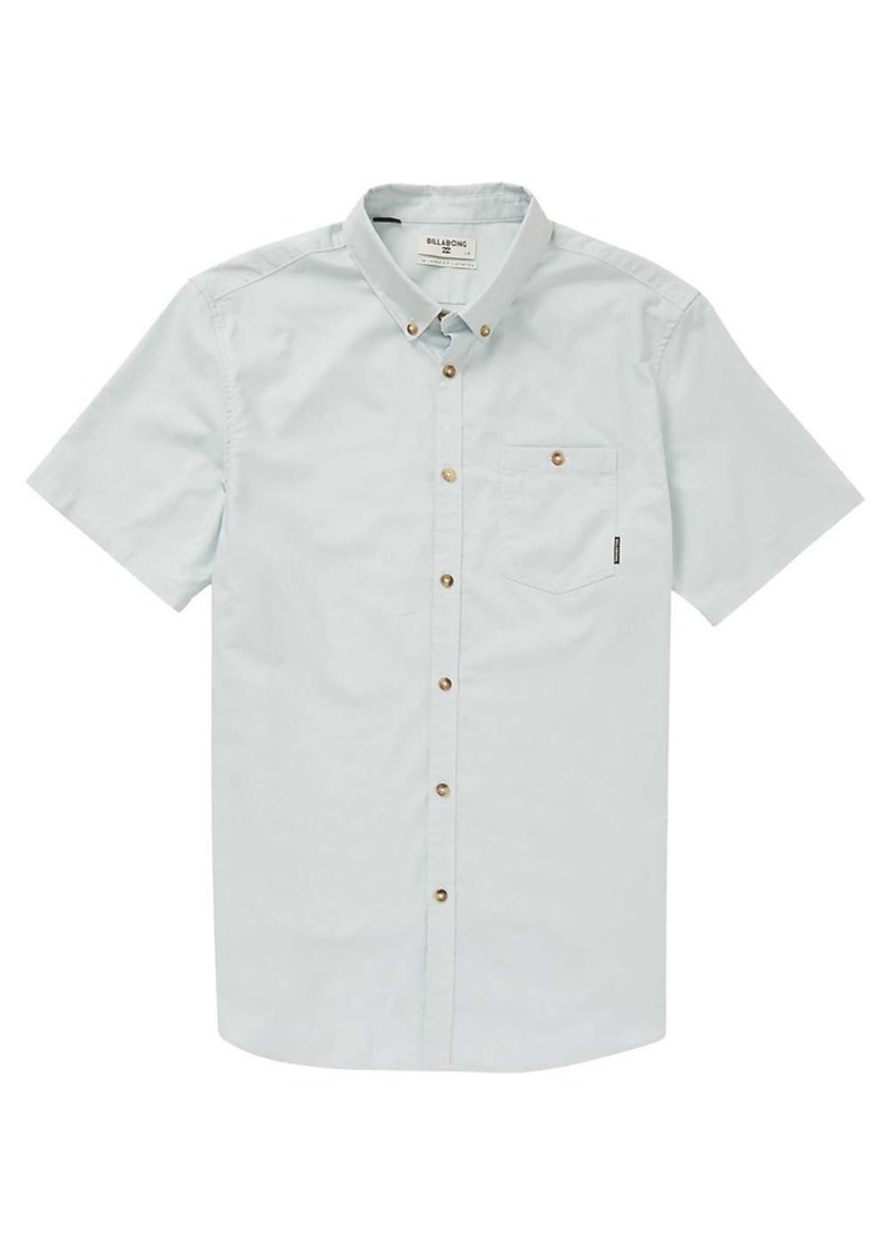 Billabong Men's All Day Oxford SS Button Up