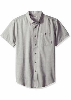 Billabong Men's All Day Short Sleeve Woven Shirt  S