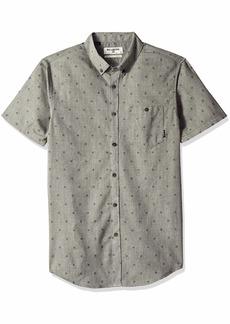 Billabong Men's All Day Short Sleeve Woven Shirts  M