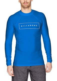 Billabong Men's All Day United Performance Fit Long Sleeve Rashguard  XL