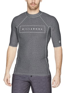 Billabong Men's All Day United Performance Fit Short Sleeve Rashguard