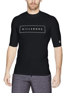 Billabong Men's All Day United Performance Fit Short Sleeve Rashguard  L