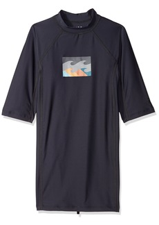 Billabong Men's All Day Wave Performance Short Sleeve Rashguard  XL
