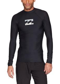 Billabong Men's All Day Wave Performance Long Sleeve Rashguard  S