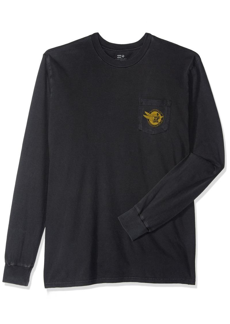 Billabong Men's Anvil Short Sleeve Knit Crew T-Shirt  XL