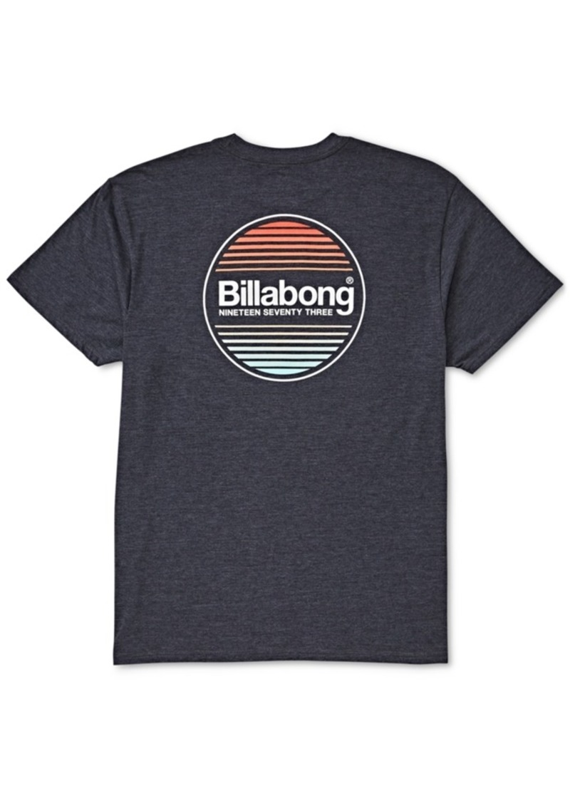 Billabong Men's Atlantic Logo Graphic T-Shirt