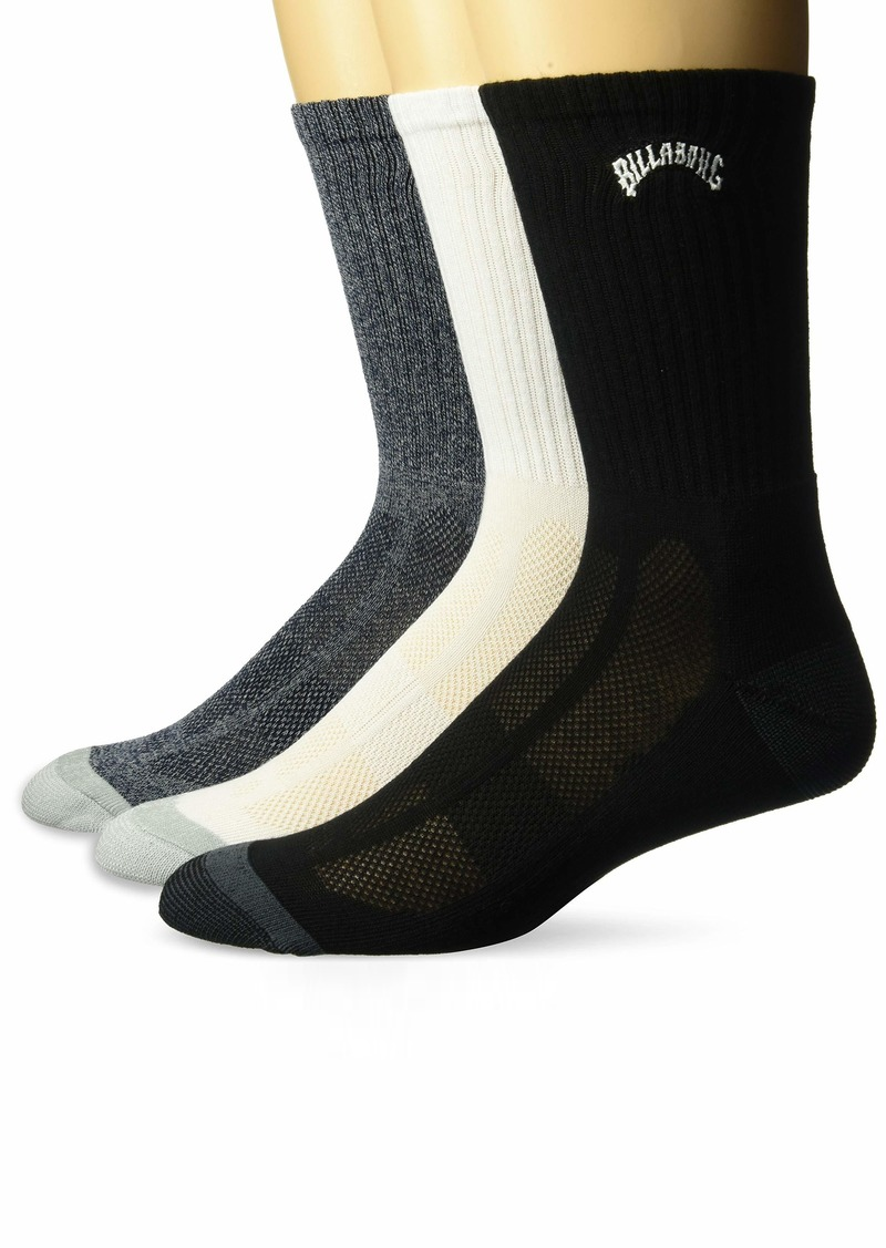 Billabong Men's  Bag Crew Socks