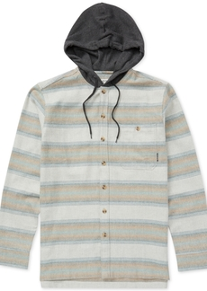Billabong Men's Baja Flannel Hooded Shirt