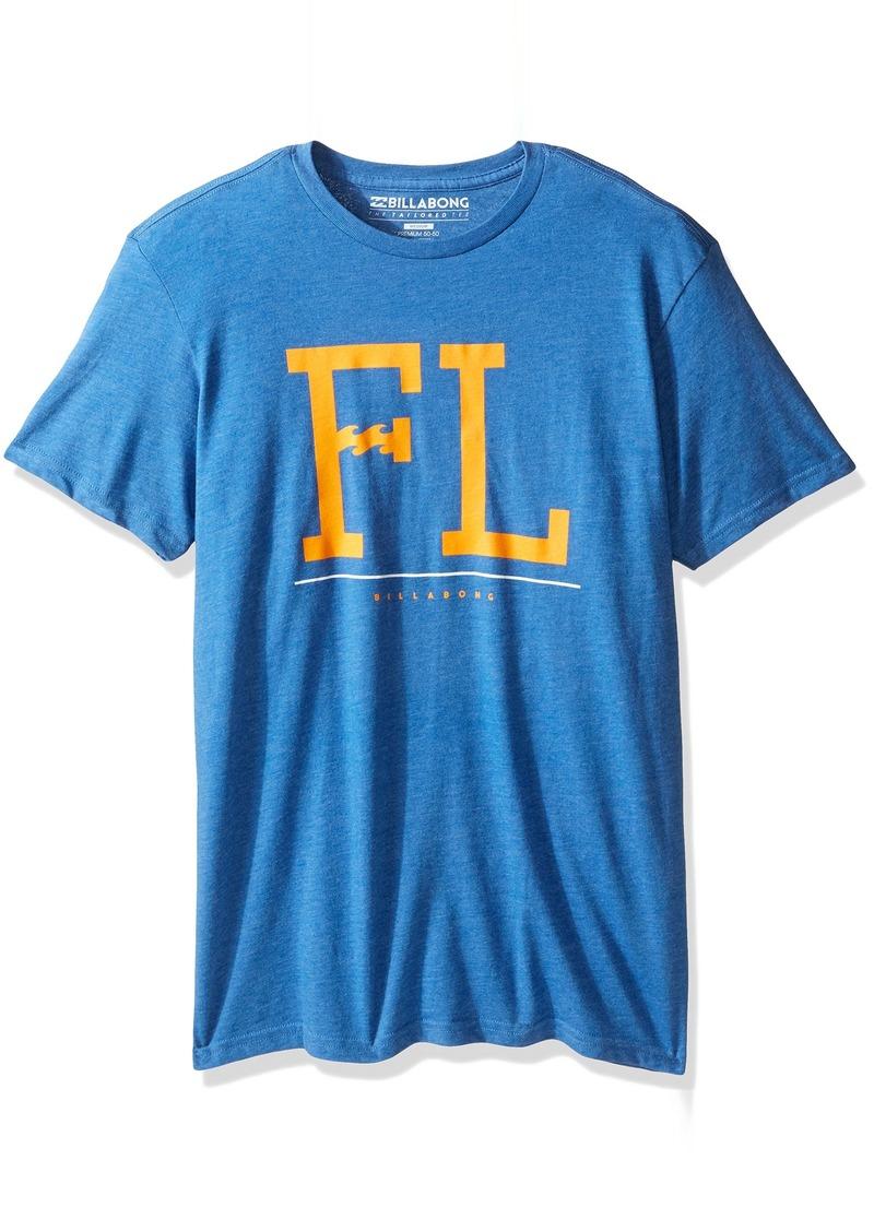 Billabong Men's Barred Short Sleeve T-Shirt  M