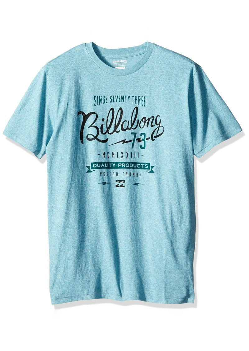 Billabong Men's Bolt Short Sleeve Crew Tee