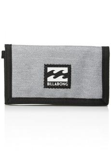 Billabong Men's Classic Tri-Fold Wallet light grey heather ONE