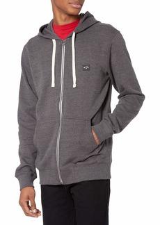 Billabong Men's Classic Premium Full Zip Fleece Sweatshirt Hoodie  XXL