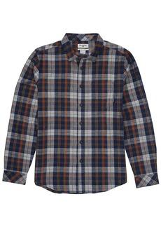 Billabong Men's Coastline Flannel Long Sleeve