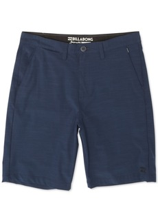 Billabong Men's Crossfire Stretch Micro Repel Textured Hybrid Shorts