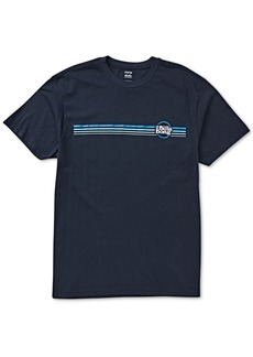 Billabong Men's Cruise Stripe Logo Graphic T-Shirt