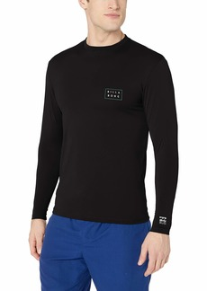 Billabong Men's Die Cut Loose Fit Long Sleeve Rashguard