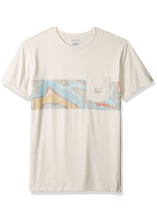 Billabong Men's Die Cut Stripe Tee  S