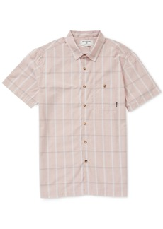 Billabong Men's Donny Plaid Pocket Shirt