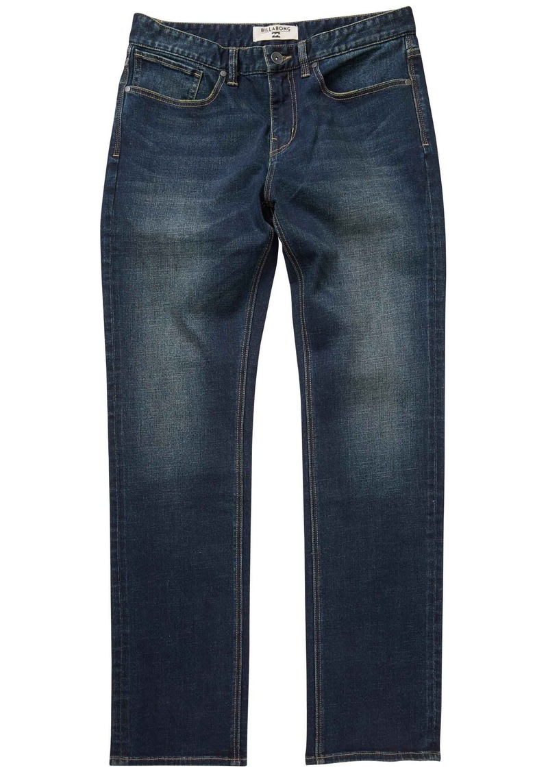 Billabong Men's Fifty Straight Fit Denim Jean