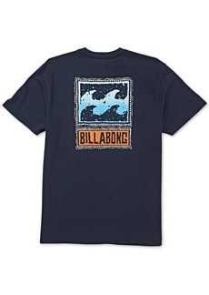 Billabong Men's Fifty Wave Logo Graphic T-Shirt