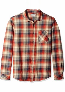 Billabong Men's Flannel Long Sleeve Shirts  S