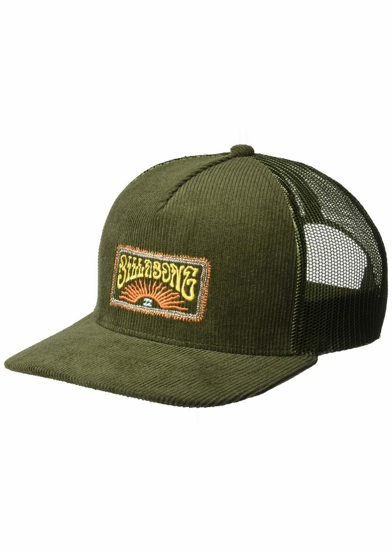 Billabong Men's Flatwall Trucker Hat