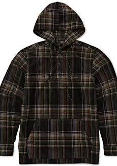 Billabong Men's Fleece Flannel Hoodie