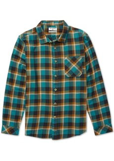 Billabong Men's Fremont Plaid Flannel Shirt