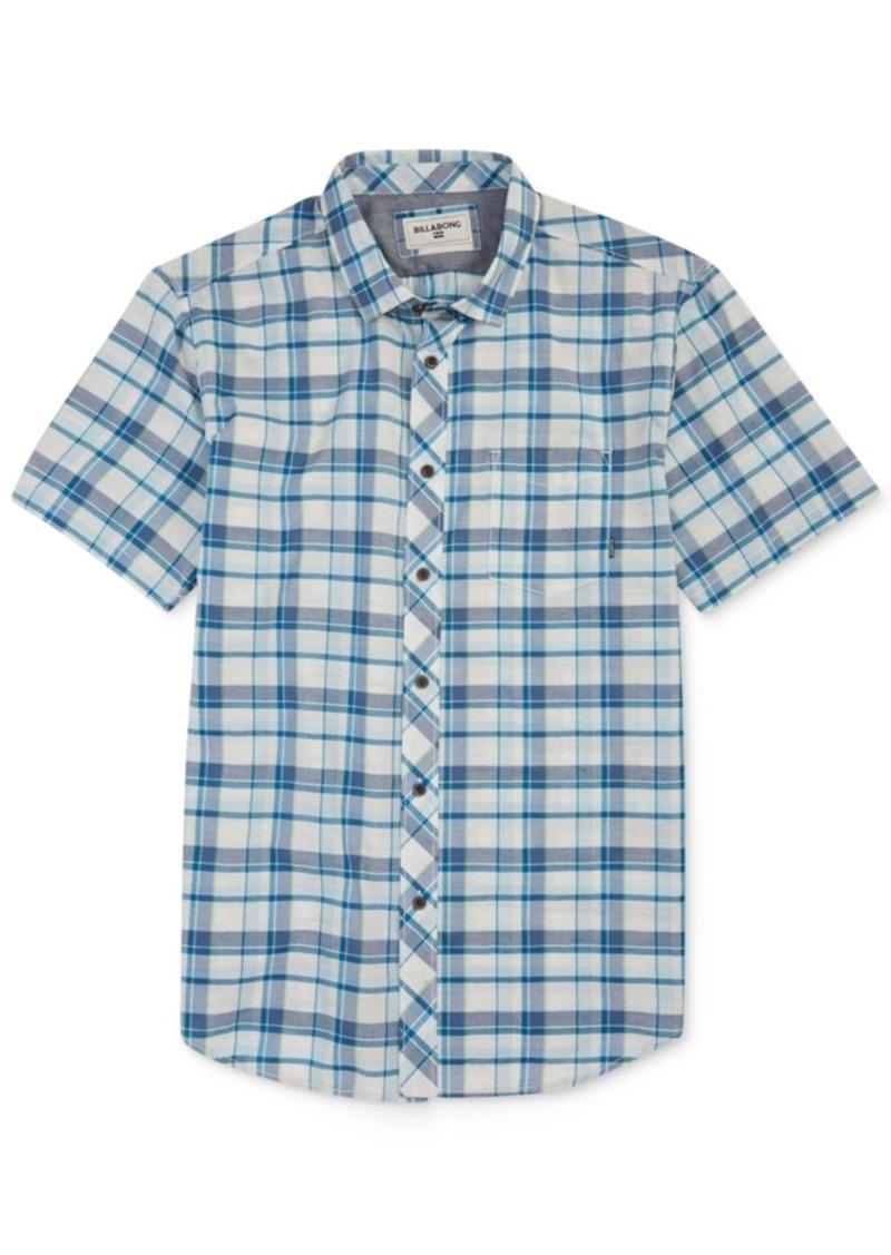Billabong Men's Glenwood Plaid Short-Sleeve Shirt