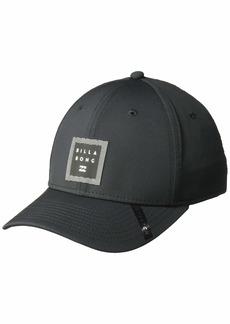 Billabong Men's Hat tech Stretch Black L/X