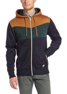 Billabong Men's Hustla Zip Up Fleece Hoodie  2X-Large