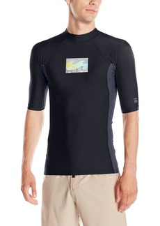Billabong Men's Performance Fit Short Sleeve Rashguard