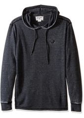 Billabong Men's Keystone Waffle Knit Thermal Pullover Hoody