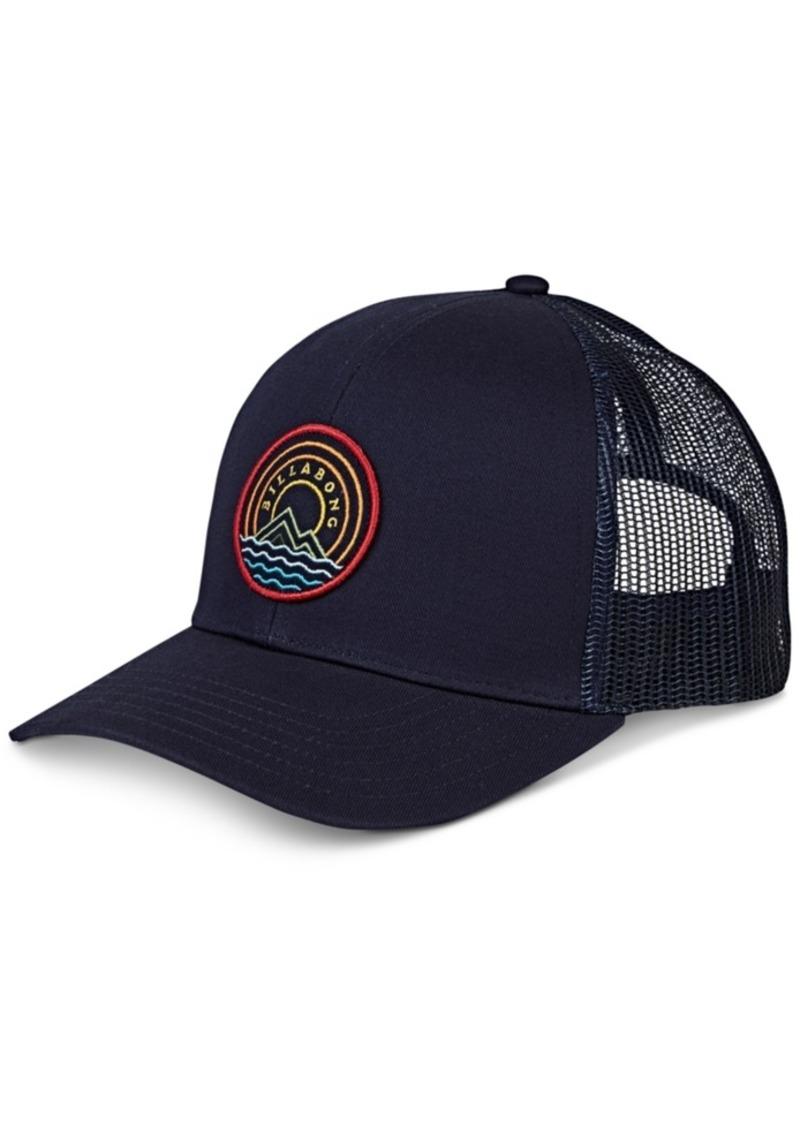 Billabong Men's Logo Graphic Trucker Hat