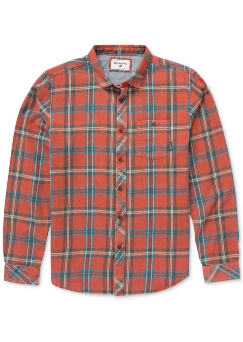Billabong Men's Long-Sleeve Vantage Plaid Shirt