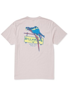 Billabong Men's Macaw Logo Graphic T-Shirt