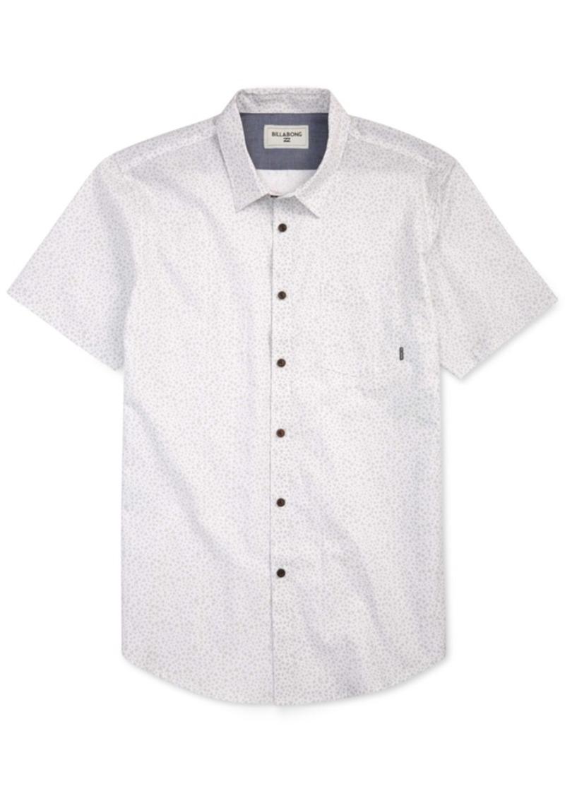 Billabong Men's Metric Button-Front Shirt