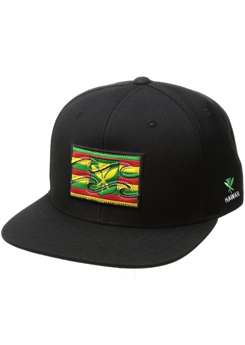 Billabong Men's Native State Flag Adjustable Snapback Hat  ONE Size