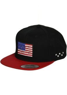 Billabong Men's Native State Flag Adjustable Snapback Hat USA