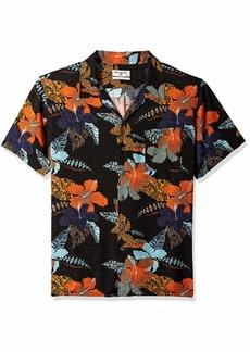 Billabong Men's Printed Woven Short Sleeve Shirts  L