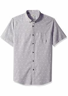 Billabong Men's Printed Woven Short Sleeve Shirts  S
