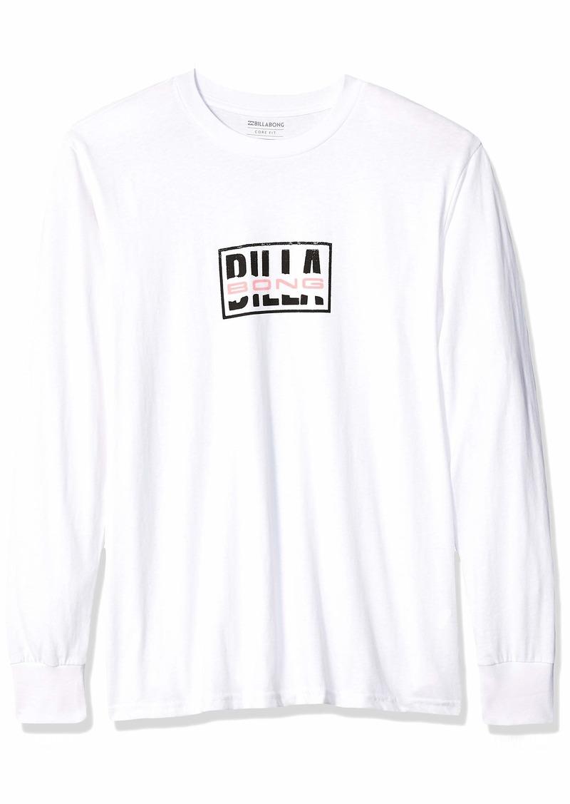 Billabong Men's Ripped Long Sleeve T-Shirt